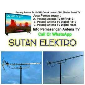 Pusatnya Pemasangan Antena Tv UHF Digital - bisa pararel