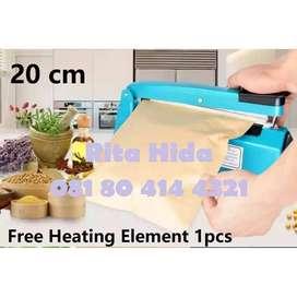 Press Plastik Makanan 20 cm merk bagus harga terjangkau