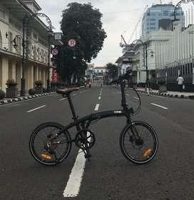 Element bike X filosofi kopi , 9 speed mulus