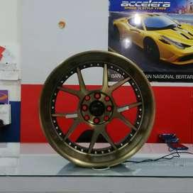 velg mobil hsr wheel dan ban accelera zeteex forceum