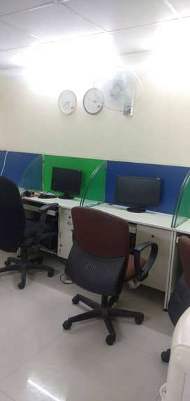 11 seater plug&play office space for rent in basheer bagh Assembly roa