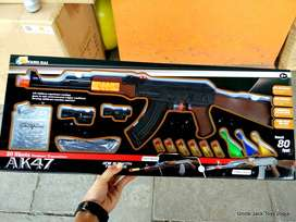 Mainan Anak - Nerf Soft Blaster Model AK Classic ver B