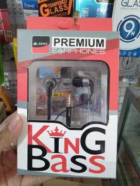 rdy headset head set kabel army king bass stereo (sinar kita)