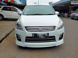 Suzuki Ertiga GX AT Elegance 2014 putih Tdp 9 jt pajak panjang