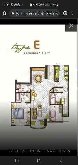 Apartment Bumimas 2BR termurah Fatmawati Cilandak Pondok Indah