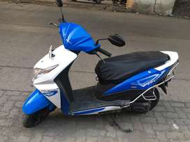 Honda Dio 2015 Blue White Emi Available