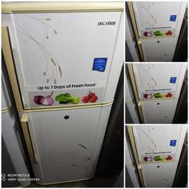 WHITED PRINTED DOUBLE DOOR FRIDGE WITH 5 YEARS OF WARRANTY