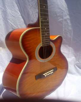 Professional Sunburst ACOUSTIC GUITAR HIH - 41''