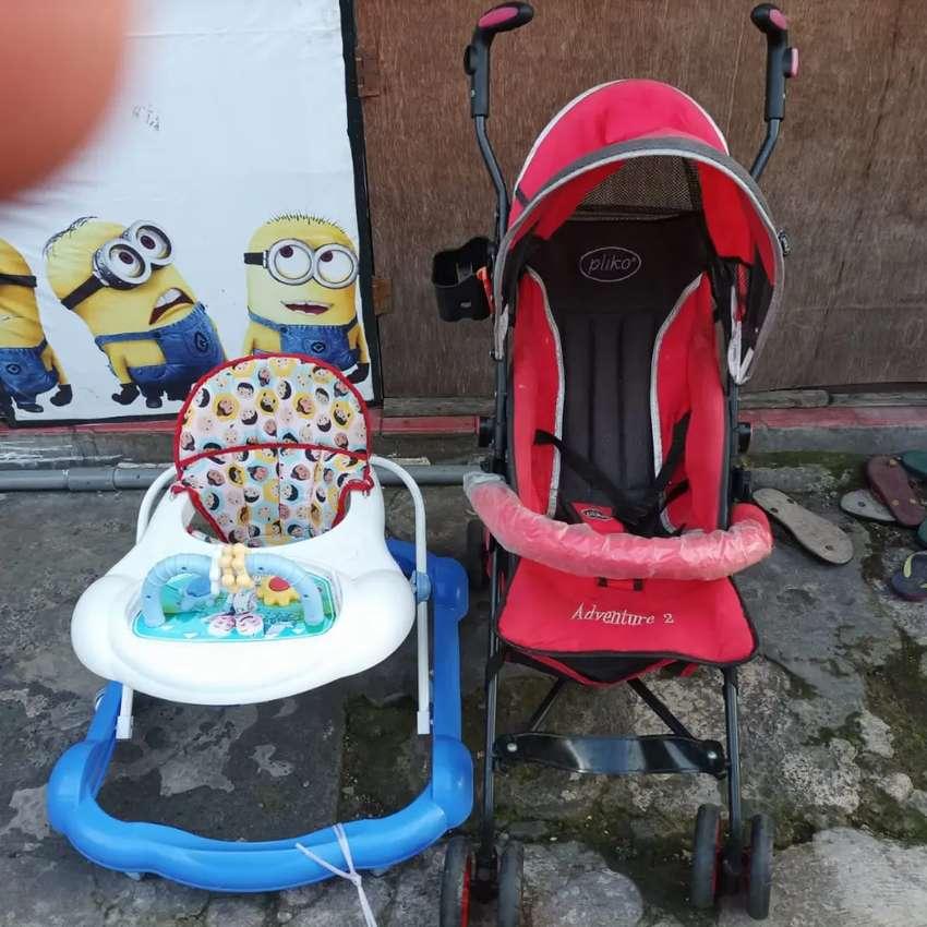 Stroller dan baby walker