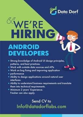 iOS, Android & PHP Laravel Developers