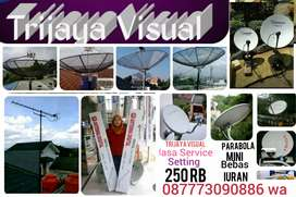 Ahli pemasangan Antena parabola Ciracas