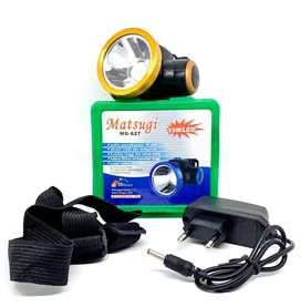 SENTER KEPALA LED MATSUGI MG 627 15 WATT