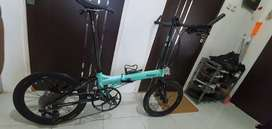 FNHON BLAST Disc Brake/Full Bike (Sepeda Lipat/Folding Bike)