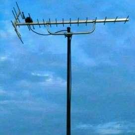 Pemasangan Antena Tv\\Bisa Cabang Ke Banyak Tv