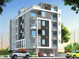 955 sqft 2 bhk flat in garden view apartment semi furnished