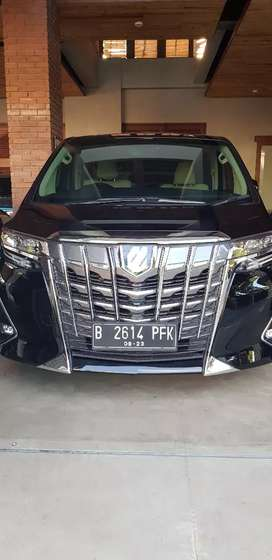 Toyota alphard 2.5 G 2018 ATPM black on beige
