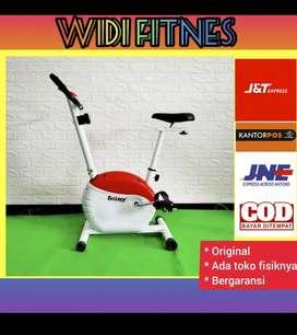 sepeda statis alat fitnes gym alat olahraga promo