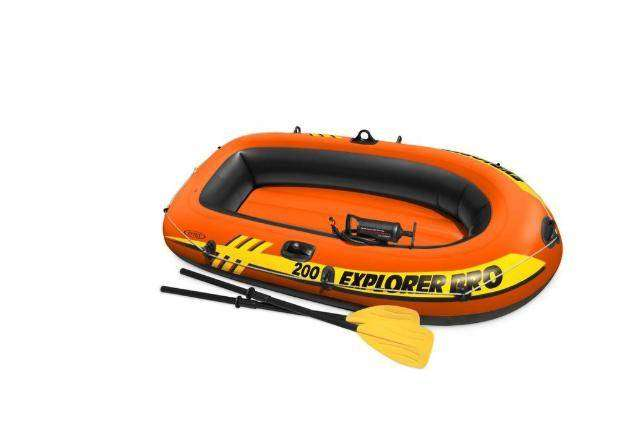 Intex Boat Explorer Inflatable Boat Set Pro 200 Two person 0