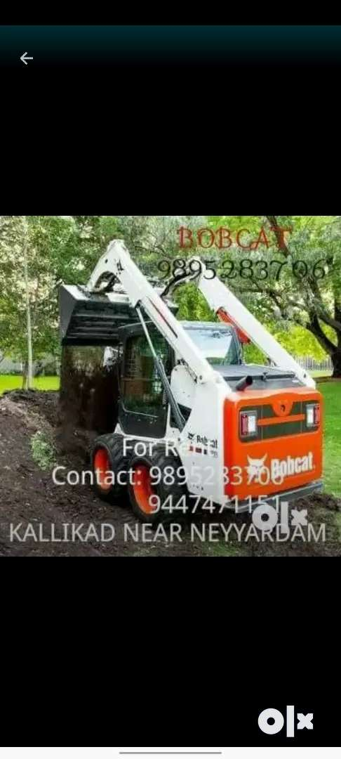 Bobcat skidsteer S450 for rent 0