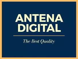Pasang Antena TV UHF HD-12 ANTENNA DIGITAL terdekat Pasir Nangka