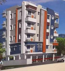 Baghajatin 2 bhk brand new apartment