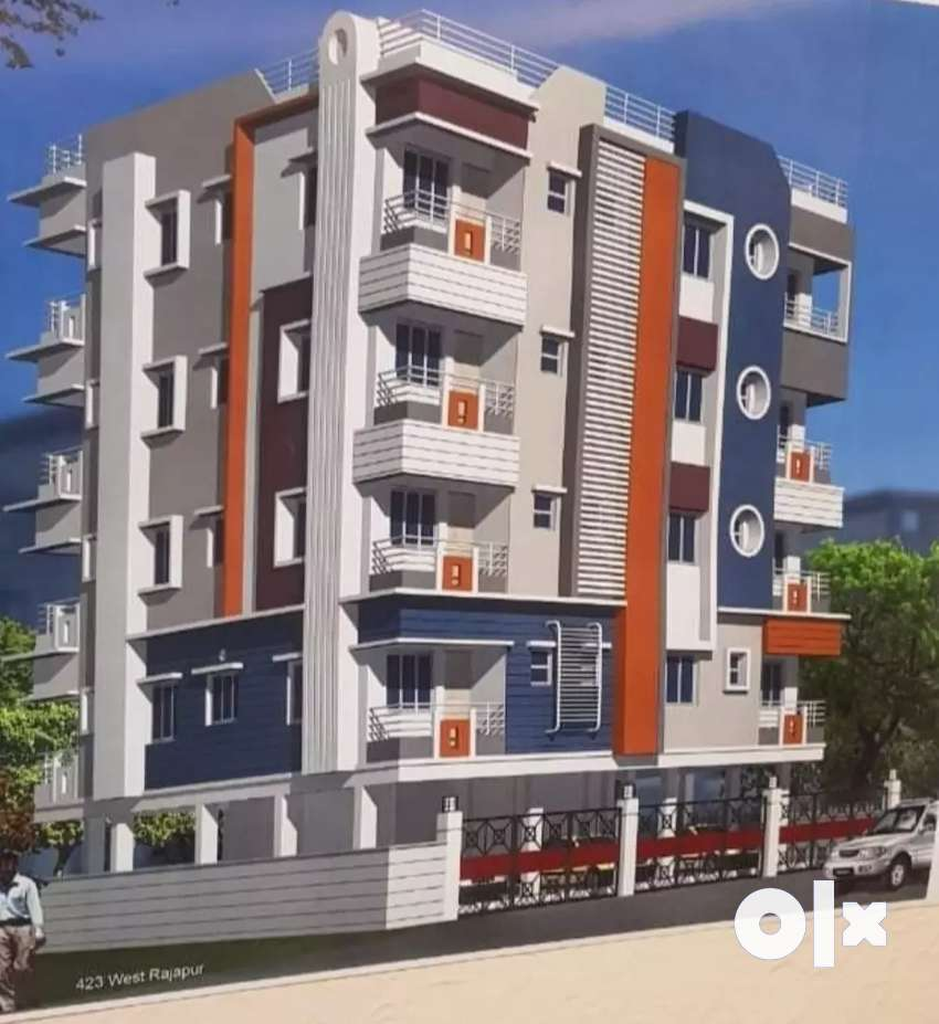 Baghajatin 2 bhk brand new apartment 0