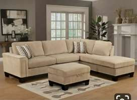 Bombay collection L shape sofa with 5 years of warranty