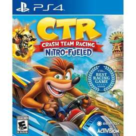 Game digital original ps4 CTR