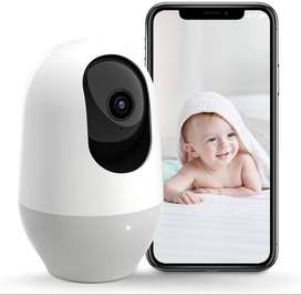 Nooie Baby Monitor, WiFi Pet Camera Indoor, 360-degree Wireless IP Nan