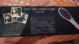 Hair brush straightner & Hair curler for sale
