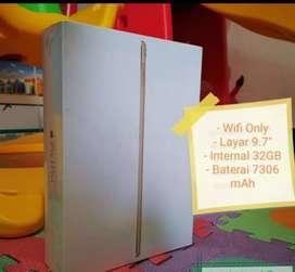 """Apple iPad pro 9.7 """"2016 32 GB WiFi baru n garansi resmi ibox"""