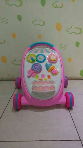 Baby Smart Push Walker Second - Dorongan Belajar Jalan Bayi Secondhand