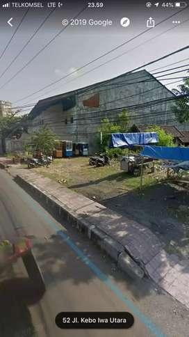 Tanah 12are Turun Harga di Jln Utama Kebo Iwa Utara