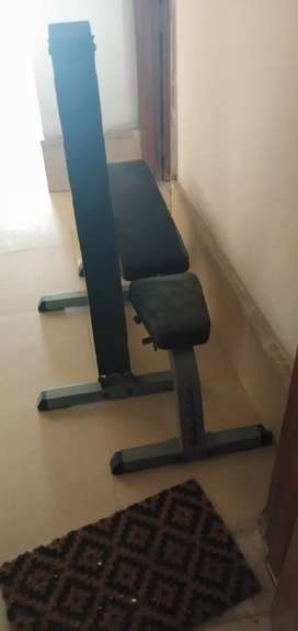 Bench incline and Flat