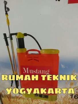(RUMAH TEKNIK JOGJA) sprayer semprot hama elektric dan manual