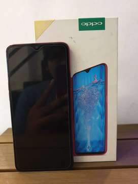 Oppo f9, 4/64 red normal
