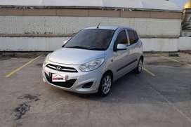 Hyundai i10 Bensin Tahun 2011 / 2012 Matik Abu Metalik