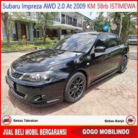 Subaru Impreza AWD 2.0 At 2009 KM 58RB JDM Spec