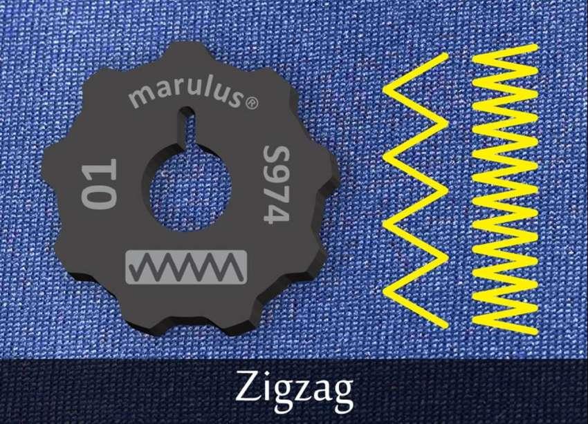 Cam Disc Pattern Mesin Jahit Singer 974 Zigzag Pembuat Motif Zigzag