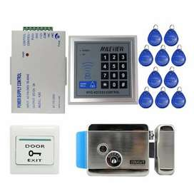 Card Access control  Door locks System Complete Pkg with Installation
