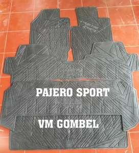 Minggu buka karpet lantai karet Pajero sport vm36