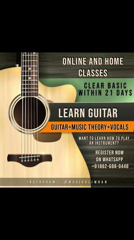 Guitar basic beginner music keyboard