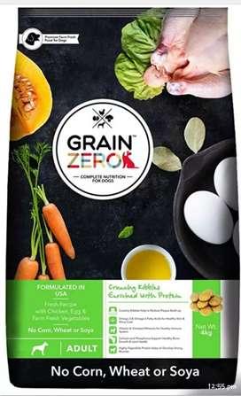 "Super Premium ""ZERO GRAIN"" Adult & Puppy Food Now Available"