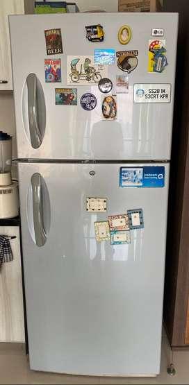 LG 430L Ice Beam Door Tech Fridge