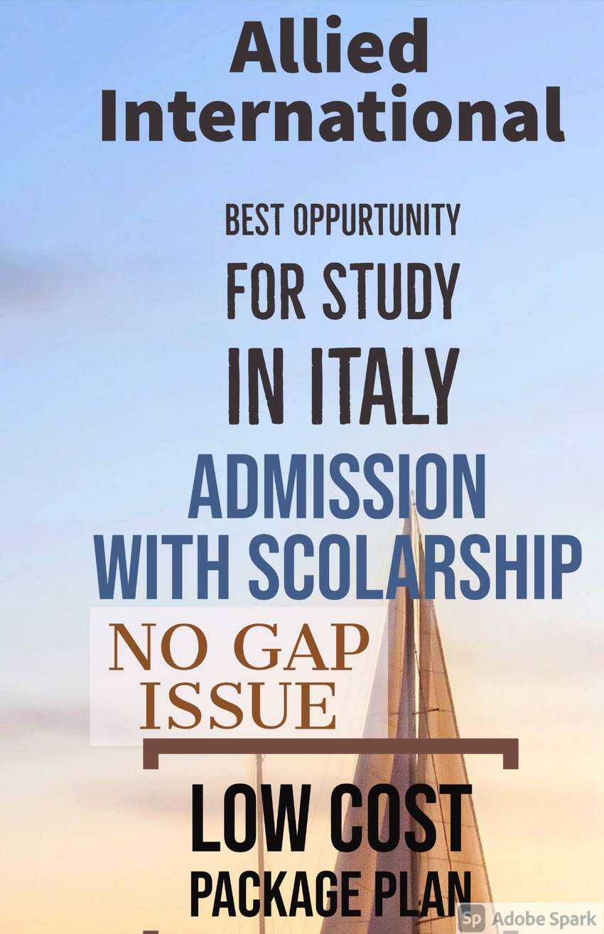 BEST TIME TO APPLY FOR ITALY STUDENT VISA WITH LOW TUITION FEE 0