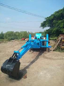 Tractor JCB backo & loader