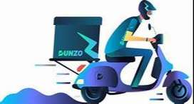BIKER  DELIVERY BOYS REQUIRED FOR DUNZO