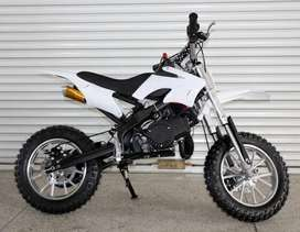 Dirt bike available in all colors