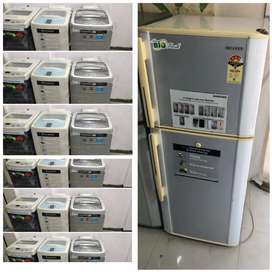 8500/- Rs Fridge //-- washing machine 6500/-