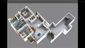 Duplex 4 BHK Pent houses on a prime location